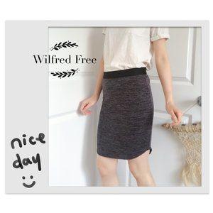 Aritzia Wilfred Free Knit Pencil Skirt